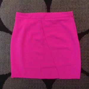Hot Pink Mini Scort Skirt!